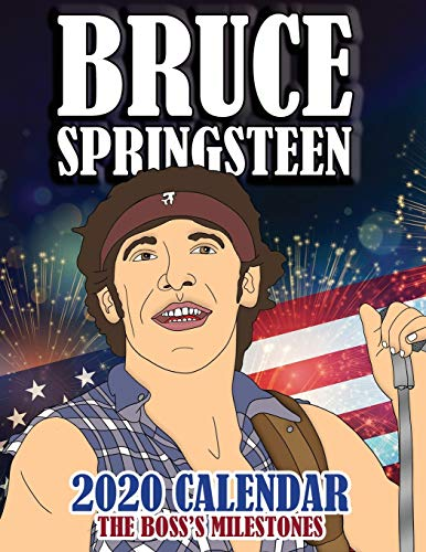 Lee Un Libro Bruce Springsteen 2020 Calendar: The Boss's Milestones De Gumdrop Press Libros ... @tataya.com.mx