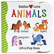 Babies Love Animals Chunky Lift-a-Flap Board…
