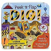 Dig: Peek-a-Flap Board Book af Jaye Garnett