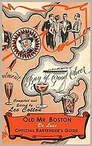 Old Mr. Boston Deluxe Official Bartender's…