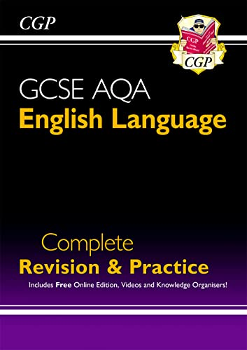 GCSE English Language AQA Complete Revision & Practice – Grade 9-1 Course (with Online Edition) (CGP GCSE English 9-1 Revision)