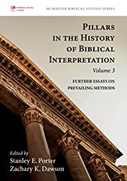 Pillars in the History of Biblical…