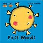 Peek-a-Book First Words by Katie Saunders