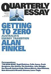 Getting to Zero: Australia's Energy…