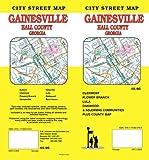 City street map Gainesville, Hall County, Georgia : Clermont, Flower Branch, Lula, Oakwood & adjoining communities plus county map / G.M. Johnson & Associates Ltd