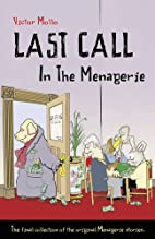 Last Call in the Menagerie by Victor Mollo