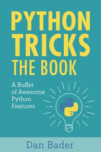 PDF) Download Python Tricks: A Buffet of Awesome Python