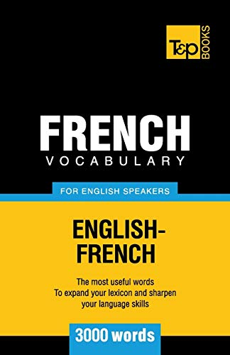 PDF] French Vocabulary for English Speakers - 3000 words