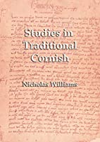 Studies in Traditional Cornish by Nicholas…