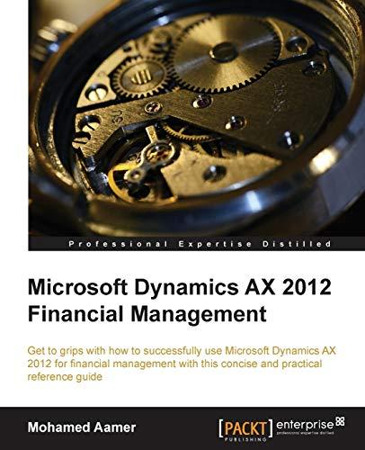 Extending Microsoft Dynamics Ax 2012 Cookbook Pdf