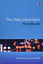The Data Librarian's Handbook by Robin…