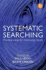 Systematic Searching av Paul Levay (editor)…