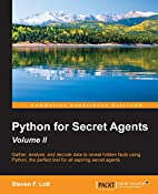 Python for Secret Agents - Second Edition by…