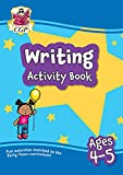 New Writing Home Learning Activity Book for Ages 4-5 (CGP Primary Fun Home Learning Activity Books)