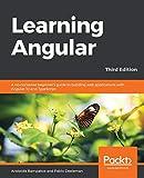 couverture du livre Learning Angular