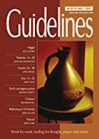 Guidelines: September-December 2008:…