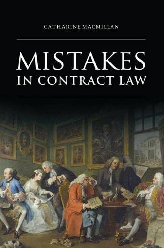 PDF] Mistakes in Contract Law   Free eBooks Download - EBOOKEE!