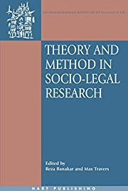 Theory And Method in Socio-legal Research…