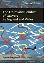 The Ethics and Conduct of Lawyers in England…