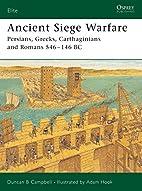 Ancient Siege Warfare: Persians, Greeks,…