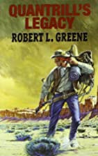 Quantrill's Legacy (Dales Western) by Robert…