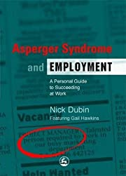 Asperger syndrome and employment…