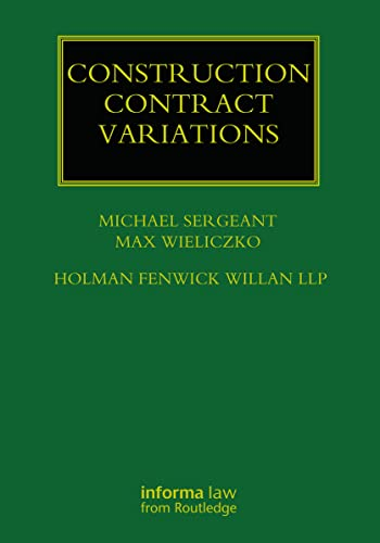PDF] Construction Contract Variations | Free eBooks Download