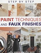 Step-by-step Paint Techniques and Faux…