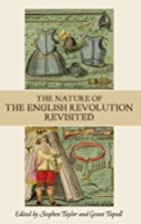 The nature of the English Revolution…