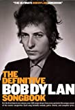 The definite Bob Dylan songbook