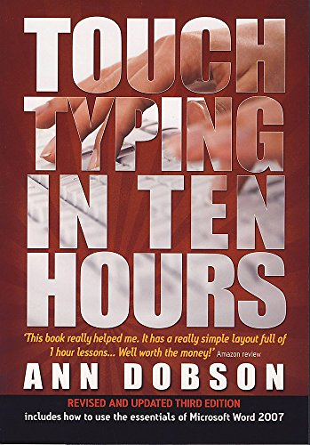 PDF] Touch Typing in Ten Hours: Spend a Few Hours Now and