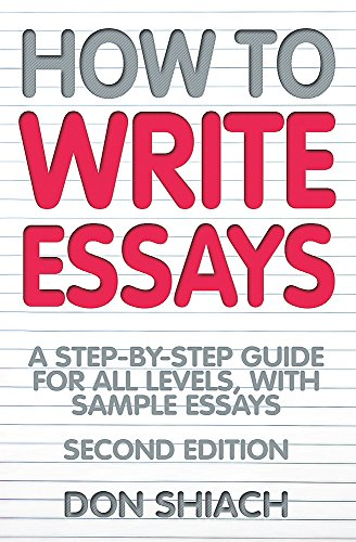 books essay writing essay writing campusguides at glendale  how to write essays by don shiach