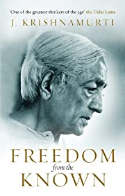 Freedom from the Known de J Krishnamurti