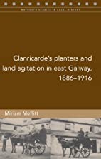 Clanricarde's Planters and Land Agitation in…