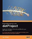 couverture du livre Project Management with dotProject