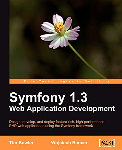 Symfony 1.3 Web Application Development