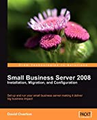Small Business Server 2008 - Installation,…
