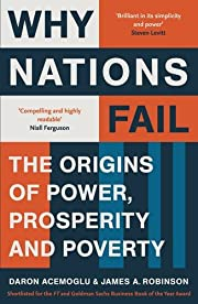 Why nations fail the origins of power,…