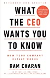 What the CEO wants you know