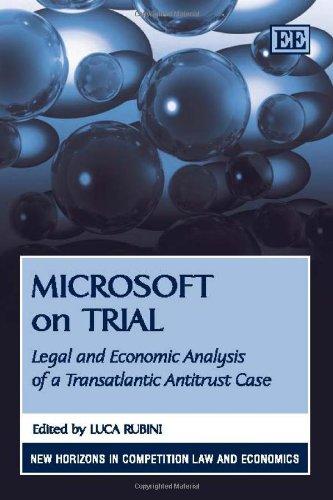 The microsoft antitrust law suits