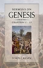 Sermons on Genesis by John Calvin