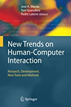 New Trends on Human-Computer Interaction:…