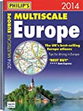 Philip's Multiscale Europe 2014: Spiral A3 (Road Atlas)