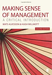 Making Sense of Management: A Critical…
