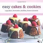 Easy Cakes & Cookies: Cupcakes, Brownies,…