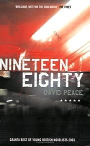 Nineteen Eighty av David Peace