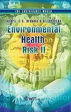 Environmental Health Risk II (The…