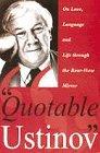 Quotable Ustinov / Peter Ustinov
