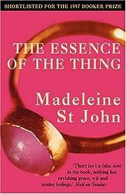 The Essence of the Thing por Madeleine…