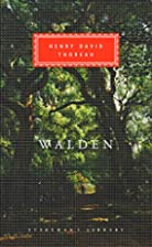 Walden (Everyman's Library classics) by…